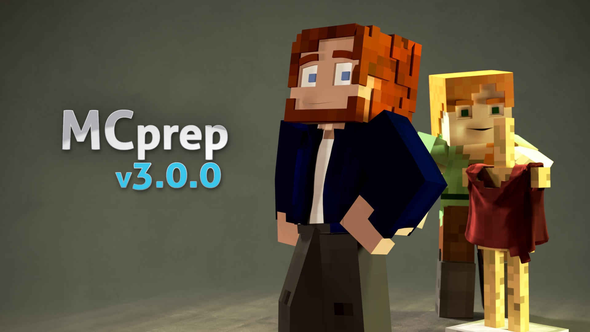 MCprep | Blender Minecraft addon | Moo-Ack! Productions