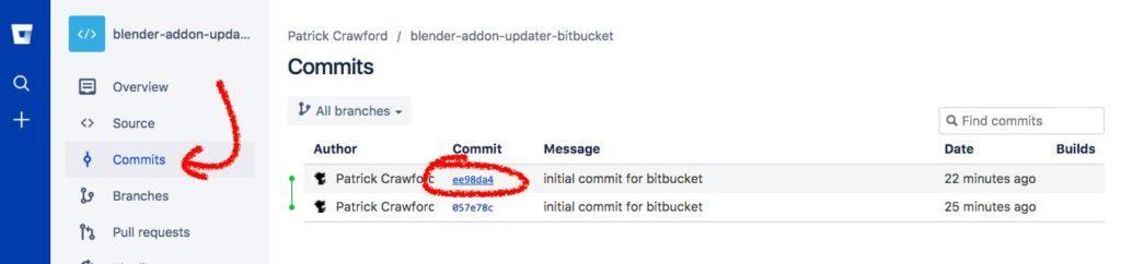 bitbucket tags step 1