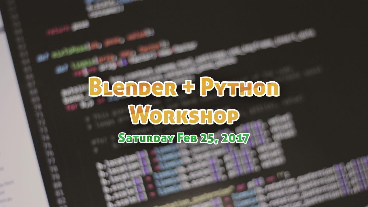 Blender python tutorial for beginners