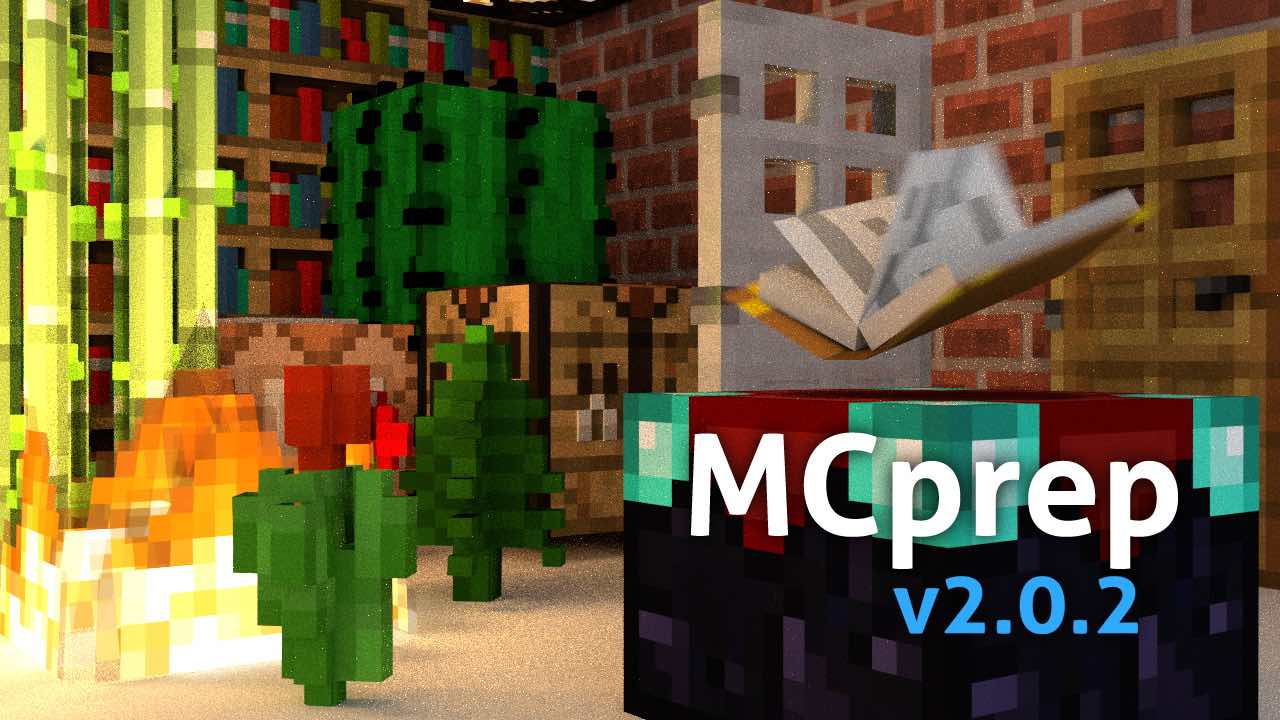 MCprep | Blender Minecraft addon | Moo-Ack! Productions
