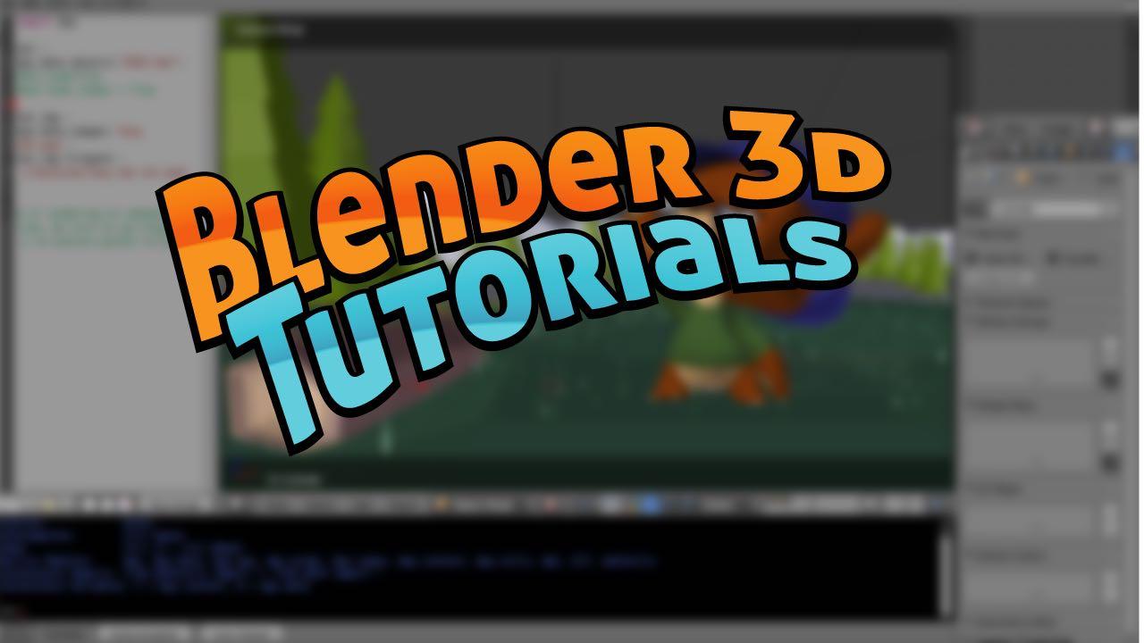 Blender 3D Tutorials   Moo-Ack! Productions